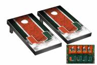 Miami Hurricanes Mini Cornhole Set