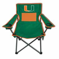 Miami Hurricanes Monster Mesh Tailgate Chair