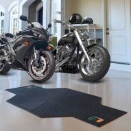 Miami Hurricanes Motorcycle Mat