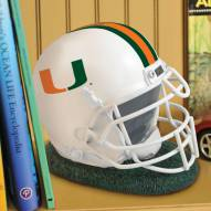 Miami Hurricanes NCAA Helmet Bank