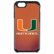 Miami Hurricanes Pebble Grain iPhone 6/6s Plus Case