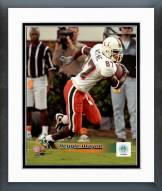 Miami Hurricanes Reggie Wayne Action Framed Photo
