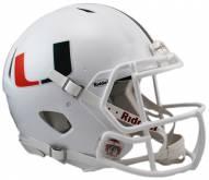 Miami Hurricanes Riddell Speed Replica Football Helmet