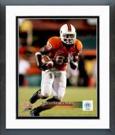 Miami Hurricanes Sinorice Moss 2004 Action Framed Photo