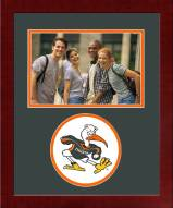Miami Hurricanes Spirit Vertical Photo Frame