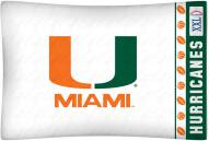 Miami Hurricanes Pillow Case