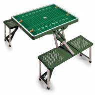 Miami Hurricanes Sports Folding Picnic Table