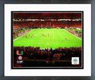 Miami Hurricanes Sun Life Stadium 2008 Framed Photo