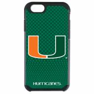 Miami Hurricanes Team Color Football True Grip iPhone 6/6s Case