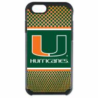 Miami Hurricanes Team Color Pebble Grain iPhone 6/6s Case