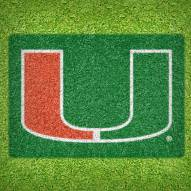 Miami Hurricanes DIY Lawn Stencil Kit