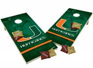 Miami Hurricanes XL Shields Cornhole Game