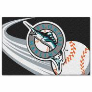 "Miami Marlins 20"" x 30"" Tufted Rug"