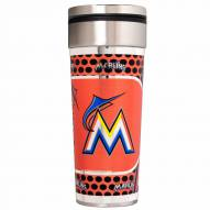Miami Marlins 22 oz. Hi Def Travel Tumbler