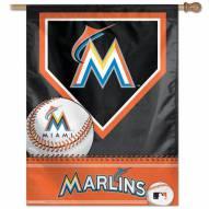 "Miami Marlins 27"" x 37"" Banner"