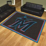 Miami Marlins 8' x 10' Area Rug