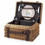 Miami Marlins Black Champion Picnic Basket