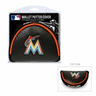 Miami Marlins Golf Mallet Putter Cover
