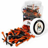 Miami Marlins 175 Golf Tee Jar