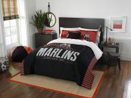Miami Marlins Grand Slam Full/Queen Comforter Set