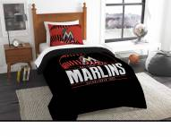 Miami Marlins Grand Slam Twin Comforter Set