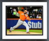 Miami Marlins Henderson Alvarez 2014 Action Framed Photo