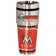 Miami Marlins Hi-Def Travel Tumbler