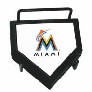 Miami Marlins Home Plate Coaster Set