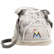 Miami Marlins Hoodie Duffle