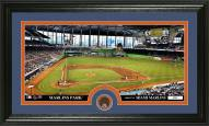 Miami Marlins Infield Dirt Coin Panoramic Photo Mint