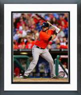 Miami Marlins Jarrod Saltalamacchia 2014 Action Framed Photo
