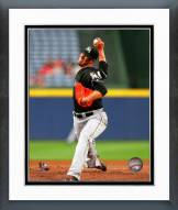 Miami Marlins Jose Fernandez 2014 Action Framed Photo