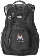 Miami Marlins Laptop Travel Backpack