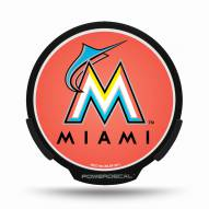 Miami Marlins Light Up Power Decal