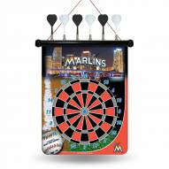 Miami Marlins Magnetic Dart Board