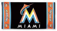 Miami Marlins McArthur Beach Towel