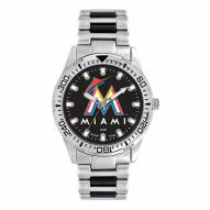 Miami Marlins Men's Heavy Hitter Watch