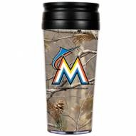 Miami Marlins RealTree Camo Coffee Mug Tumbler