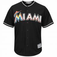 Miami Marlins Replica Black Alternate Baseball Jersey