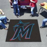 Miami Marlins Tailgate Mat