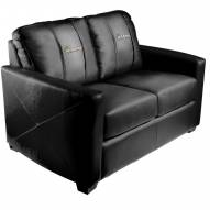 Miami Marlins XZipit Silver Loveseat with Secondary Logo