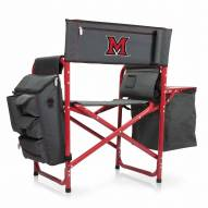 Miami of Ohio RedHawks Gray/Red Fusion Folding Chair