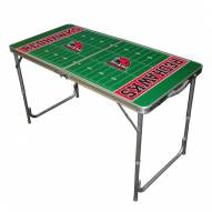 Miami of Ohio RedHawks Outdoor Folding Table