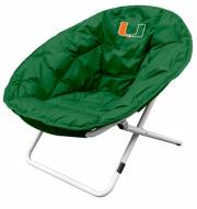 Miami Hurricanes NCAA Sphere Chair