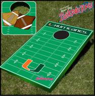 Miami Hurricanes College Bean Bag Tailgate Toss Game