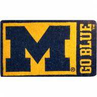 Michigan Wolverines NCAA Welcome Mat