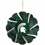 "Michigan State Spartans 10"" Geo Spinner"