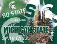 "Michigan State Spartans 15"" x 20"" Printed Canvas"