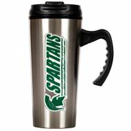 Michigan State Spartans 16 oz. Stainless Steel Travel Mug