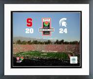 Michigan State Spartans 2014 Rose Bowl Champions Framed Photo